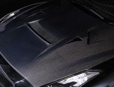 GT-R - R35 - Cooling Bonnet - Construction: Carbon - VBNI-111