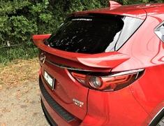 CX-5 - KF2P - Rear Waist Wing Painted - Construction: FRP - Colour: Jet Black Mica (41W) - Colour: Machine Gray Premium Metallic (46G) - Colour: Snowflake White Pearl (25D) - Colour: Soul Red Crystal Metallic (46V) - cx-5-kf-rear-waist-wing-01-p