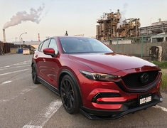CX-5 - KF2P - Wide Over-Fenders (Front and Rear, Left and Right) - Construction: FRP - Colour: Unpainted - cx-5-kf-over-wide-fender-01