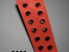 Swift - ZC72S - Colour: Red Alumite - 841522-4800M