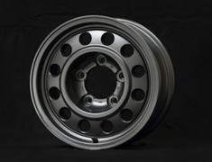 "- 1 Wheel Only - Colour: Gunmetallic - Size: 16"" - Width: 7.5J - Hole: 5H-150 - Offset: 0 - Bore: 110.2mm - B950675MGM"