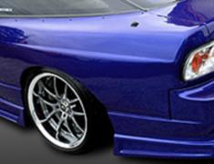 180SX - RS13 - Construction: FRP - Colour: Unpainted - Rear Wide Fender +50mm