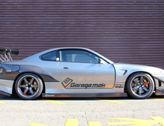 Silvia - S15 - Rear Blister Fenders - Construction: Carbon - GMRS15WB-RBFC