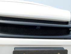 Note - E12 - Front Grill - For cars with front mounted cameras - Construction: FRP - Colour: EAK: Beat Nick Gold - Colour: K23: Brilliant Silver - Colour: KAD: Dark Metal Gray - Colour: KH3: Super Black - Colour: LAE: Aurora Move - Colour: NAH: Radiant Tread - Colour: