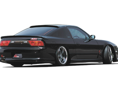 180SX - RS13 - Rear Bumper Spoiler - Construction: FRP - Colour: Unpainted - GPG4-180SX-RBS