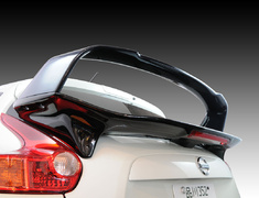 Juke - F15 - Rear Double Wing - Construction: Carbon/FRP - Colour: Unpainted - IMPULAS-NF15-RDWCF