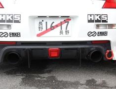 Fairlady Z - 350Z - Z33 - Rear Bumper Diffuser - Construction: Carbon - GMREV0-Z33-RBDCAR