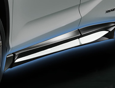 RX200t/300 4WD - AGL25W - Side Skirts - Construction: Resin (PPE) - Colour: Black(212):C0 - Colour: Graphite Black Glass Flakes(223):C1 - Colour: White Nova Glass Flakes(083):A1 - MS344-48003-##
