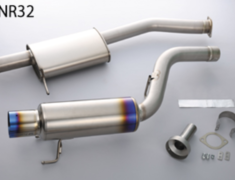 Skyline GT-R - BNR32 - Pieces: 2 - Pipe Size: 80mm - Tail Size: 112mm - Weight: 8.9kg - 442001