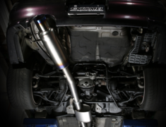 Skyline GT-R - BCNR33 - Pieces: 2 - Pipe Size: 80mm - Tail Size: 112mm - Weight: 8.3kg - 442002