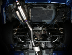 Skyline GT-R - BNR34 - Pieces: 2 - Pipe Size: 89.1mm - Tail Size: 112mm - Weight: 8.8kg - 442003