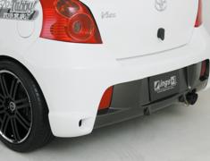 Vitz RS - NCP91 - Rear Bumper - Construction: FRP - Colour: Unpainted - ingsNSPEC-NCP91-RBF