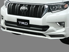 Land Cruiser - GDJ150W - Front Spoiler (without LED) - Construction: Resin (PPE) - Colour: Black (202) C0 - Colour: White Pearl Crystal Shine (070) A0 - MS341-60003-##