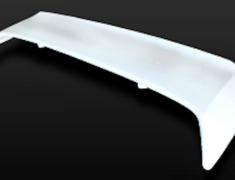 180SX - RS13 - Rear Spoiler Type 1 - Construction: FRP - Colour: Unpainted - GCFLASH-SIL80-RST1