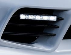RX-8 - SE3P - Front Bumper Duct Fin - Construction: Carbon - WSZEN-SE3P-FBDFC