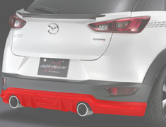 CX-3 - DK5AW - Rear Spoiler (for vehicles without a rear fog light) - Colour: Unpainted - SB-CX3-RS
