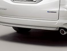 Odyssey - RC1 - Rear Under Spoiler (for vehicles without parking sensors) - Construction: PPE - Colour: Crystal Black Pearl (CB) - Colour: Platinum White Pearl (PZ)) - Colour: Premium Venus Black Pearl (PV) - 84111-XMLC-K0S0-##