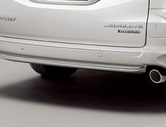 Odyssey - RC1 - Rear Under Spoiler (for vehicles with parking sensors) - Construction: PPE - Colour: Crystal Black Pearl (CB) - Colour: Platinum White Pearl (PZ)) - Colour: Premium Venus Black Pearl (PV) - 84111-XMLC-K1S0-##