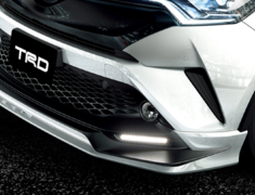 C-HR - ZYX10 - 503 Front Spoiler (with LED) - Colour: White Pearl Crystal Shine (070) - MS341-10001-A0
