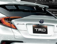 C-HR - ZYX10 - 508 Rear Trunk Spoiler - Colour: White Pearl Crystal Shine (070) - MS342-10001-A0