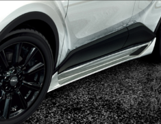 C-HR - ZYX10 - 505 Side Skirt - Colour: White Pearl Crystal Shine (070) - MS344-10001-A0
