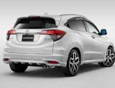 Vezel - RU1 - Styling Set: Front Under Spoiler + Side Spoilers + Rear Under Spoiler - Colour: Crystal Black Pearl - Colour: Midnight Blue Beam Metallic - Colour: Platinum White Pearl - Colour: Premium Crystal Red Metallic - Colour: Rousse BlackMetallic - 61000-XMRD-K