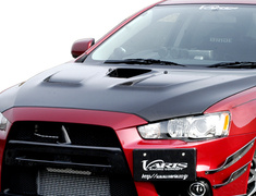 Lancer Evolution X - CZ4A - Cooling Bonnet - Material: Carbon - VBMI-117