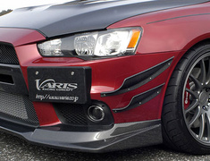 Lancer Evolution X - CZ4A - Hyper Canard Double Set - Material: Carbon - VAMI-113