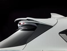 CX-5 - KF2P - Rear Roof Wing - Two-Tone - Construction: FRP - Colour: Jet Black Mica (41W) - Colour: Machine Gray Premium Metallic (46G) - Colour: Matte Black - Colour: Snowflake White Pearl Mica (25D) - Colour: Sonic Silver Metallic (45P) - Colour: Soul Red Crystal Me
