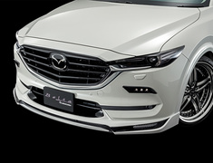 CX-5 - KF2P - Front Half Spoiler - Two-Tone - Construction: FRP - Colour: Jet Black Mica (41W) - Colour: Machine Gray Premium Metallic (46G) - Colour: Matte Black - Colour: Snowflake White Pearl Mica (25D) - Colour: Sonic Silver Metallic (45P) - Colour: Soul Red Crysta