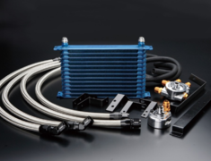 Greddy - Universal Oil Cooler Kit - Relocation Type