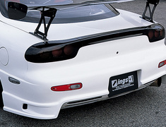 RX-7 - FD3S - Rear Bumper - Construction: Hybrid with Slit - Construction: Hybrid without Slit - Colour: Unpainted - NSPEC-FD3S-RBH