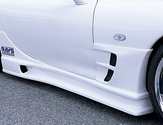 RX-7 - FD3S - Side Steps - Construction: Hybrid - Colour: Unpainted - NSPEC-FD3S-SSH