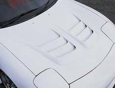 RX-7 - FD3S - Aero Bonnet - Construction: FRP - Colour: Unpainted - NSPEC-FD3S-ABF