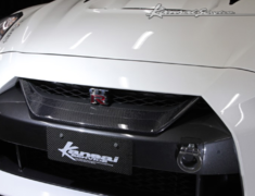 GT-R - R35 - Carbon Front Grille - Construction: Carbon - KAN111