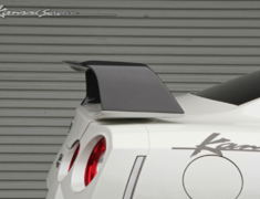 GT-R - R35 - Carbon High Mount Rear Spoiler - Construction: Carbon - KAN112