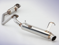 Jimny - JB23W - Pieces: 2 - Pipe Size: 50.8-45.0-50.8mm - Tail Size: 90mm - Weight: 5.4kg - 750-80916
