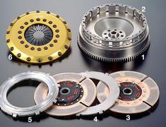 Supra A80 MKIV - JZA80 - Clutch: TR2CD - Part Name: Flywheel - OS-TR2CD-FLY