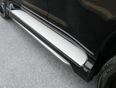 Land Cruiser - GRJ151W - Side Step Extensions (for vehicles with OEM Side Steps only) - Construction: FRP - Colour: Unpainted - ELF-LC150E-SSE