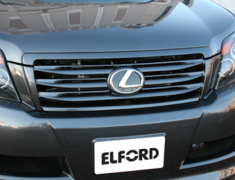 Land Cruiser - GRJ151W - Front Grill for vehicles without Front Mount Camera (2 Piece) - Construction: FRP - Colour: Unpainted - ELF-LC150E-FGW0C
