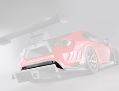 86 - ZN6 - Rear Skirt for Rear Bumper - Construction: Carbon - VATO-099