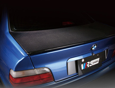 M3 Coupe - E36 - M3B - Light Weight Trunk Hood - Construction: Carbon - VTB-3602
