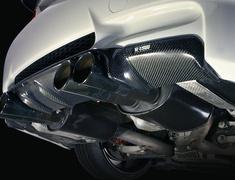 M3 Coupe - E92 - WD40 - Rear Skirt - Diffuser Look - - Construction: Carbon - Plain Weave - VAB-9212