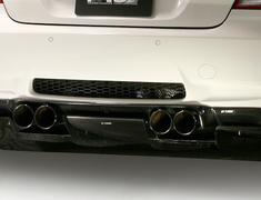M3 Coupe - E92 - WD40 - Rear Diffuser System-1 - Construction: Carbon - Plain Weave - VAB-9214