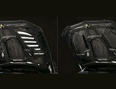 M3 Coupe - E92 - WD40 - Cooling Bonnet - Construction: VSDC - Twill Weave - VBB-9203