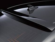 GS250 - GRL11 - Roof Spoiler - Construction: FRP - Colour: Unpainted - WALD-GS-RFS