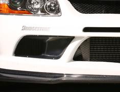 Lancer Evolution IX - CT9A - Front Bumper Oil Cooler Guide (2pcs) - VAMI-096