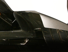 - Side Splitter Fins - Left and Right Set - For Varis Rear Diffuser Ver.2 Only - Construction: Carbon - VAMI-099