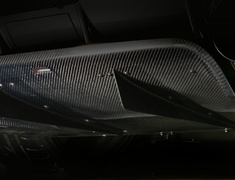 Lancer Evolution IX - CT9A - Replacement Part: Center Splitter Fin (1pc.) - VAMI-100