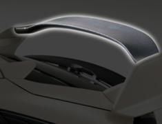 Civic Type R - FK8 - Rear Wing Flap - Construction: Carbon - VAHO015C